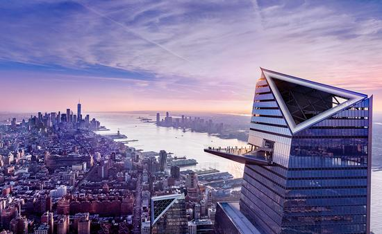 Hudson Yards' Edge, New York City