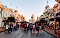 Main Street U.S.A and Cinderella's Castle at Walt Disney World's Magic Kingdom