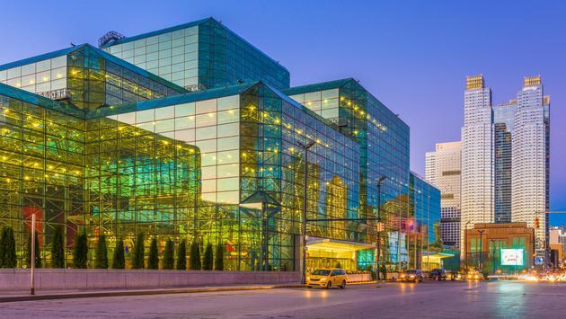 New York City's Jacob K Javits Convention Center