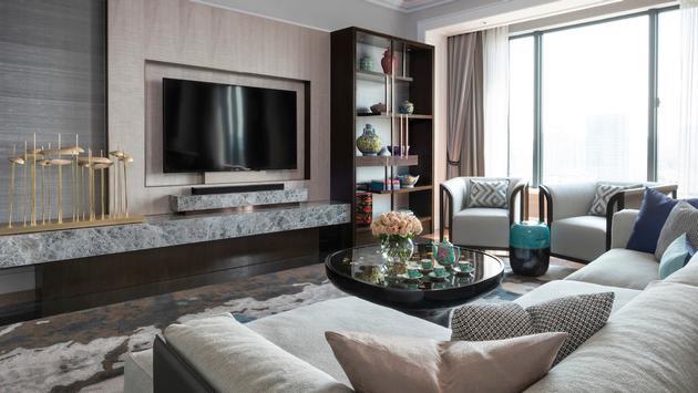 Four Seasons Hotel Singapore Ambassador Suite