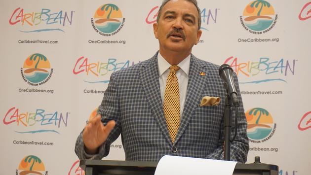 "Charles ""Max"" Fernandez, Antigua and Barbuda tourism minister"