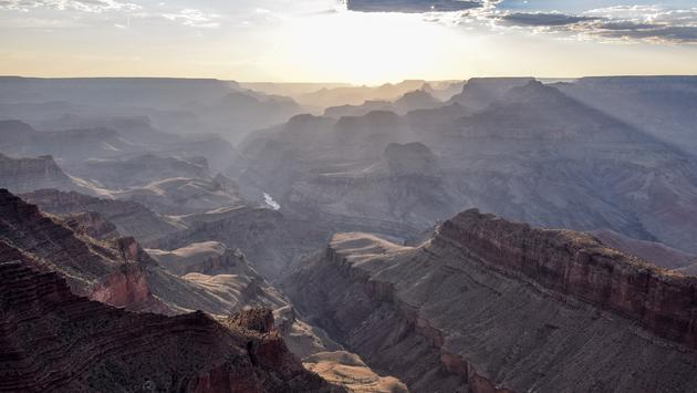 Sunset at the Grand Canyon, USA