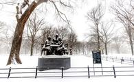 The Women's Rights Pioneers Monument in Central Park