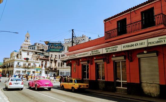 La Floridita in Havana, Cuba