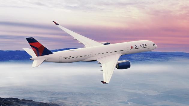 Un A350 de Delta en vol