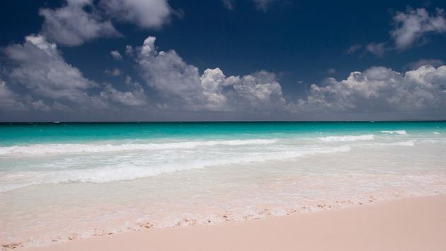 The Bahamas' Pink Sands Beach
