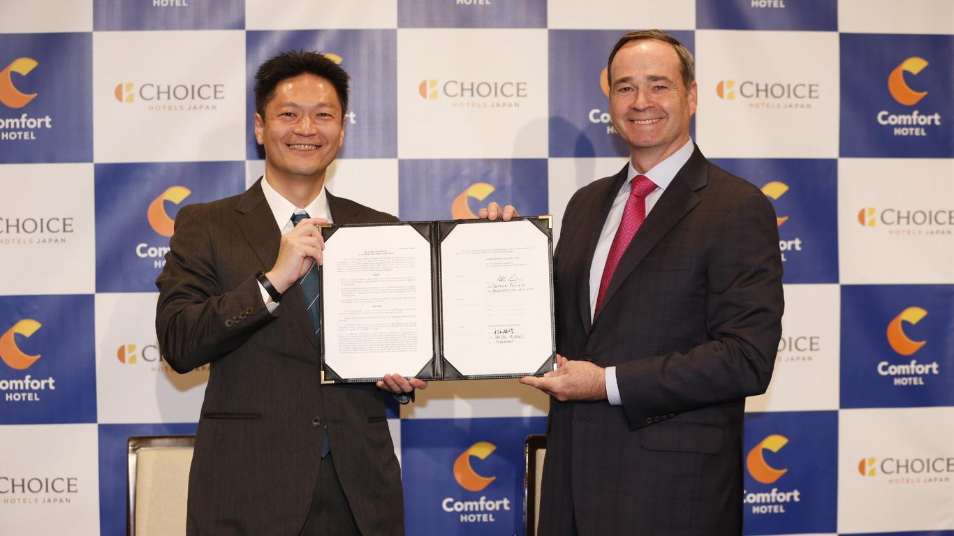Choice Hotels to Open More Than 30 New Hotels in Japan by 2033