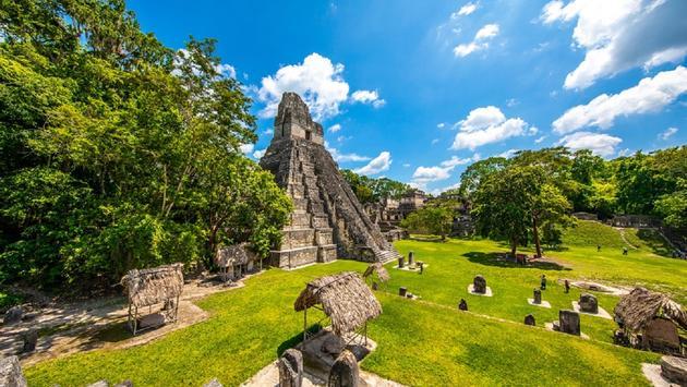 Tikal in Petén, Guatemala