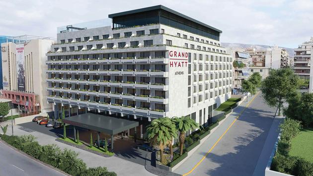 Rendering of Grand Hyatt Athens