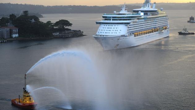 Voyager of the Seas, Cruise ship, australia