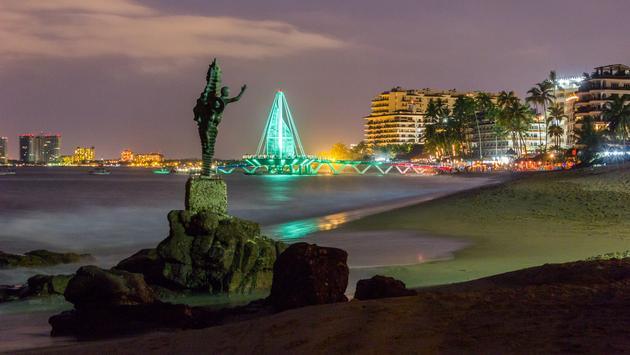 Puerto Vallarta's Romantic Zone.