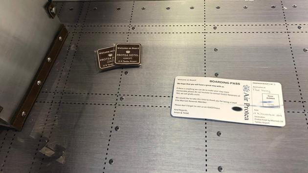 Air Protea boarding pass