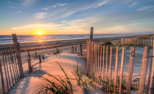 Outer Banks Beach at Sunrise