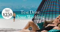 Preview Your Wedding Starting at $250 Per Couple Per Night