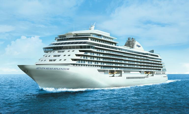 A rendering of the Explorer-class Seven Seas Splendor