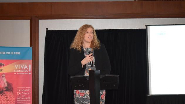 Mélanie Paul-Hus, directrice générale d'Atout France au Canada.