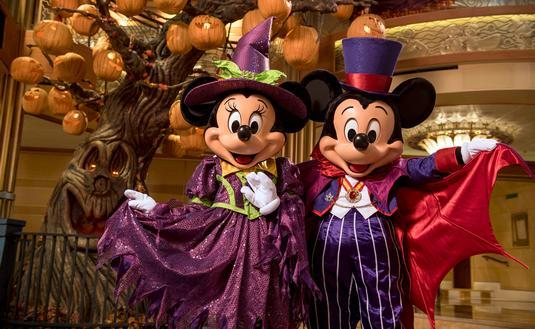 Halloween on the High Seas on Disney Cruise Line