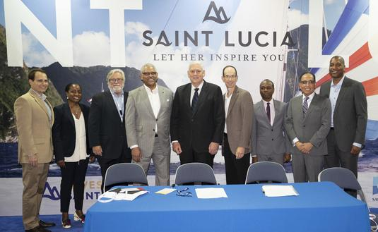 Carnival, Royal Caribbean and St. Lucia Government Sign MOU