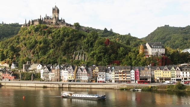 CroisiEurope on the Rhine River in Germany