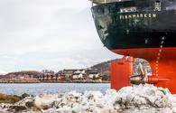 Hurtigruten's MS Finnmarken in Norway