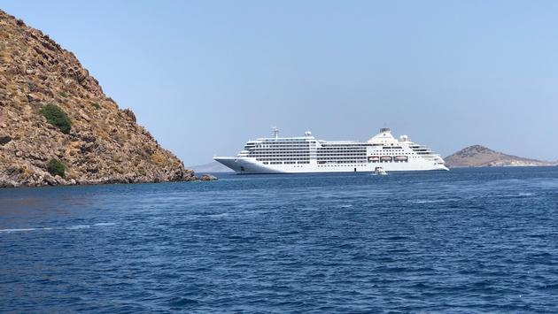 the new Silver Moon on a Greek Islands cruise