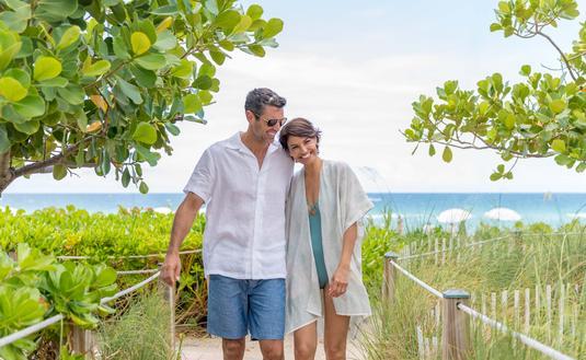 Couple at Trump Beach Resort