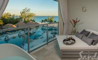 Up to $1,000 Instant Credit: Royal Seaside Crystal Lagoon Penthouse One Bedroom Oceanview Butler Suite w/ Balcony Tranquility Soaking Tub