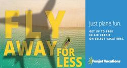 Fly Away for Less