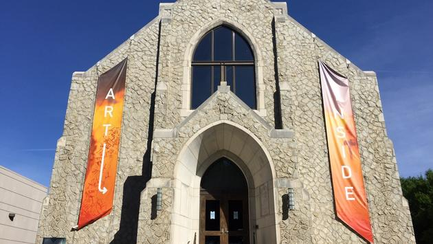 McColl Center for Art + Innovation exterior