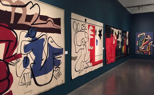 'Nomadic murals' inside Bechtler  Museum of Modern Art