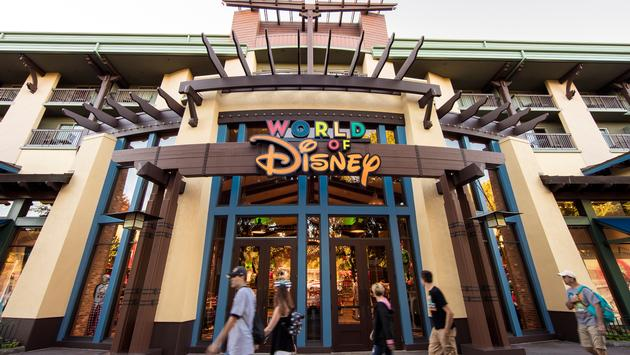 World of Disney store at Downtown Disney District.