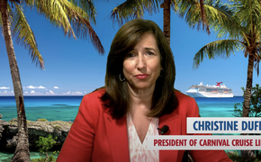 Carnival Cruise Line President Christine Duffy