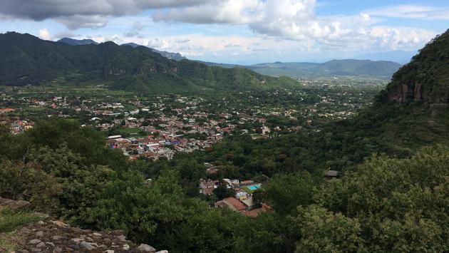 View of Malinalco