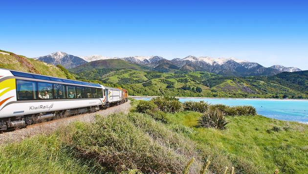 KiwiRail's Coastal Pacific Train
