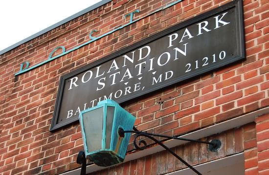 Roland Park Post Office in Baltimore, Maryland