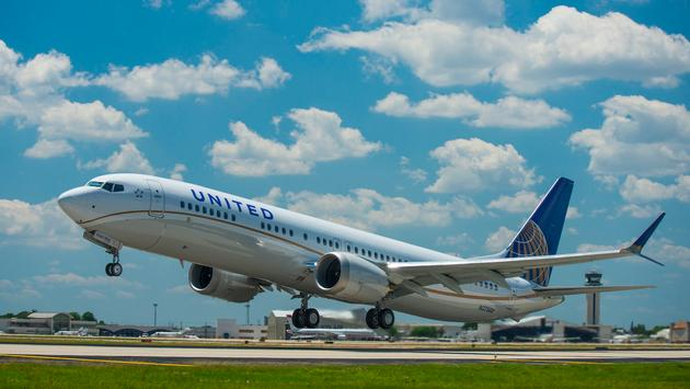 United's New Fuel-Efficient Boeing 737 MAX 9