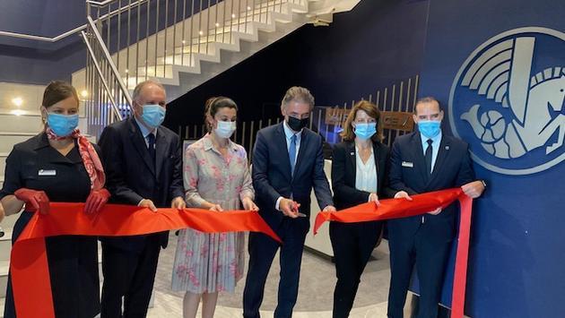 Inauguration salon Air France KLM