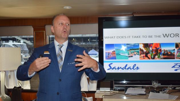 Guy Archambault, Sandals Resorts International