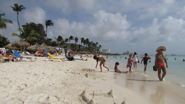 Aruba beachfront