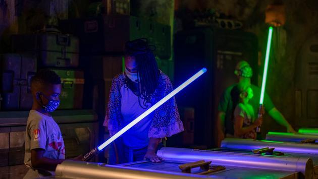 Savi's Workshop – Handbuilt Lightsabers inside Star Wars: Galaxy's Edge at Disney's Hollywood Studios at Walt Disney World Resort
