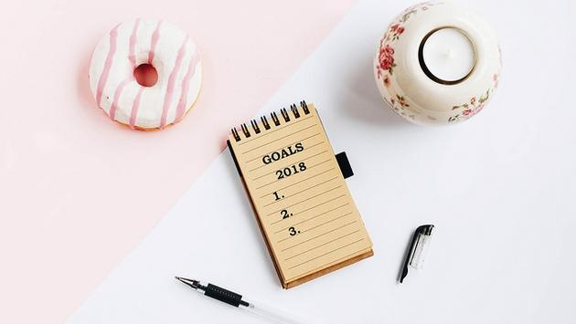 2018 goals notebook