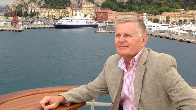 Bob Lepisto in Nice, France