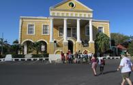 Falmouth courthouse in Falmouth, Jamaica