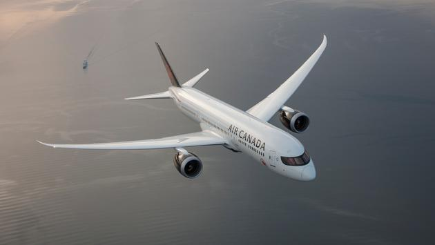 Air Canada's Boeing 787 Dreamliner Aircraft.