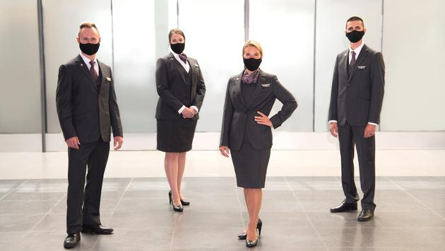 New Air Canada Rouge uniforms