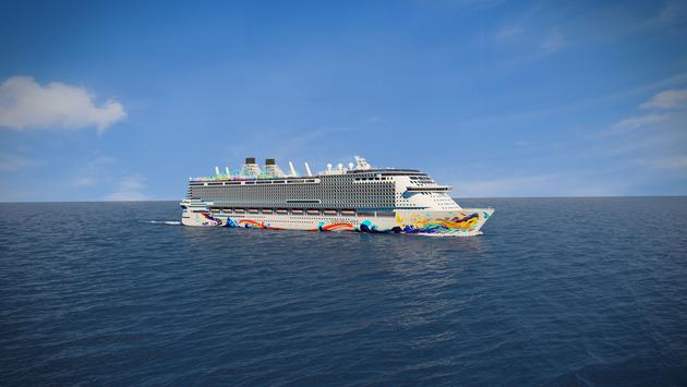 Rendering of Dream Cruises' Global Dream cruise ship