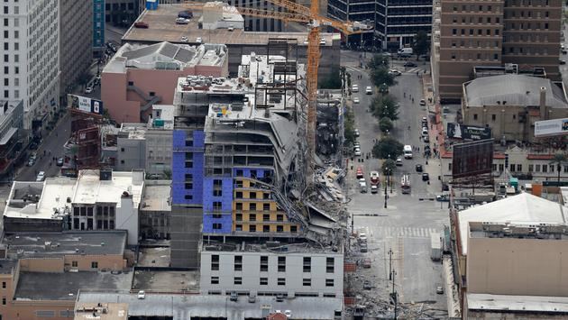 Hard Rock Hotel New Orleans Collapse