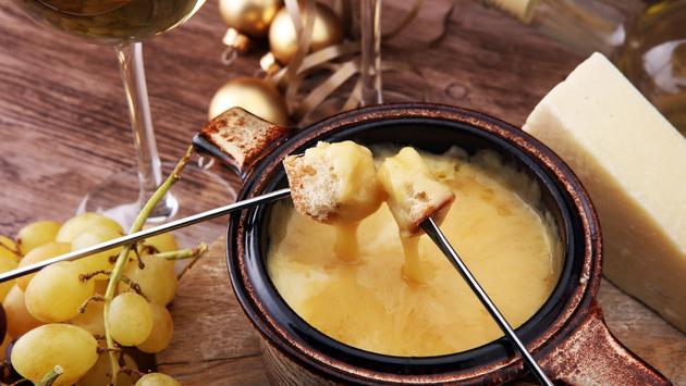 Gourmet Swiss Fondue