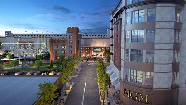 Rendering of the MGM Springfield