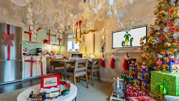 Club Wyndham Midtown 45 Holiday Suite inspired by Elf